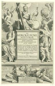 Titelpagina voor D. Mudzaert, De Kerckelycke Historie, Antwerpen 1622