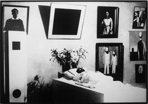 Malevich Sleeping