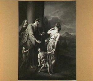 De wegzending van Hagar and Ismael (Genesis 21:16-21)
