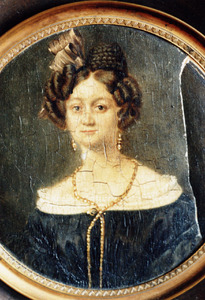 Portret van waarschijnlijk Johanna Maria Bormeester (1809-1864)