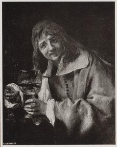 'De smaak': portret van een man, mogelijk Jacques d'Arthois (1613-1686)