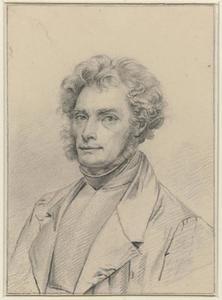 Zelfportret van Tjeerd Eernstman (1801-1886)