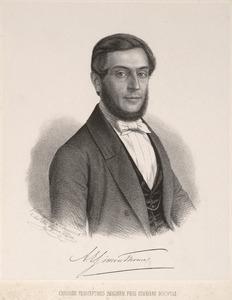 Portret van Abraham Everardus Simon Thomas (1820-1886)