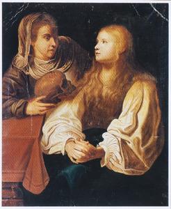 Martha vermaant haar zuster Maria Magdalena om haar ijdelheid