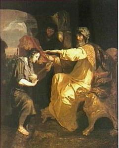 Jozef door de farao verhoogd (Genesis 41:46)