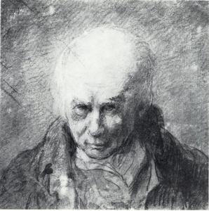 Zelfportret van Jean-Pierre Norblin  de la Gourdaine