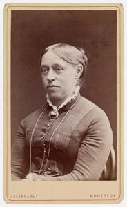 Portret van Arnoldina Johanna Wilkens (1839-1885)