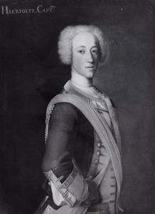 Portret van Tjalling Homme van Haersolte (1706-1789)