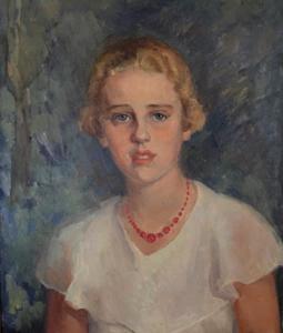 Portret van Eliza Everts (1918-1943)