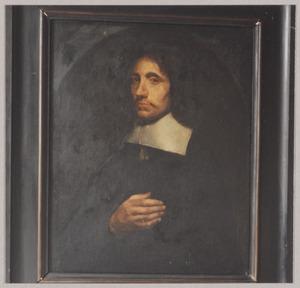 Portret van een man, waarschijnlijk Willem Sluiter (1627-1673)