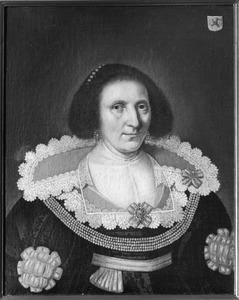 Portret van Joachima van Wijhe (?-1636)