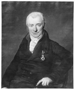 Portret van Justinus Sjuck Gerrold Juckema van Burmania Rengers (1773-1832)