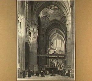 Kathedraal te Burgos, met de Escalera de la Coroneria