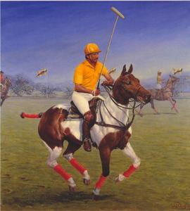 Het winnende doelpunt: Zijne Majesteit de Sultan van Brunei