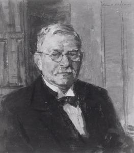 Portret van Klaas de Snoo (1877-1949)