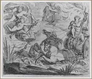 Neptunus, Venus en Amor