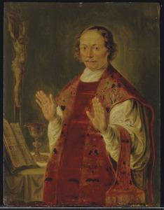 Portret van een onbekende priester