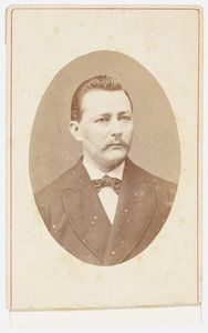 Portret van P.C.W. Mossel
