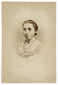Portret van Cornelia Helena Maria Meershoek (1845-1900)