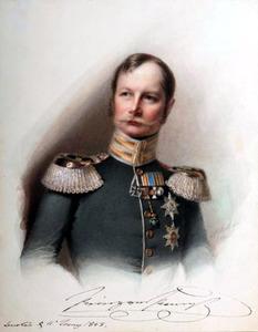 Portret van koning Wilhelm I van Pruisen (1797-1888) als prins