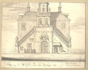 Zutphen, het de Waag anno 1720