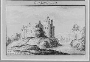 Rechter- en achterzijde van Well (ook wel Huis van Malsen) bij Heusden