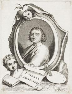 Portret van Pieter Cornelisz. van Slingelandt (1640-1691)