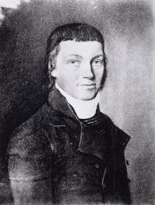 Portret van Abel Groeneveld Vietor (1774-1839)