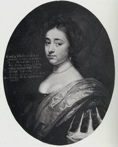 Portret van Christiana Ulfeldt (1653-1717), vrouw van Carl Gustav Bonde