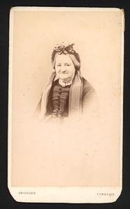 Portret van Louise Egbertina Aricie Cornets de Groot (1802-1877)