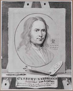 Portret van de schilder Gijsbert Andriesz. Verbrugge (1633-1730)