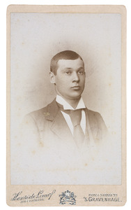 Portret van Otto Albert Gobius (1898-...)
