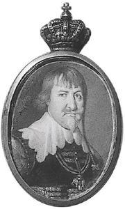 Portret van Christiaan IV (1577-1648), koning van Denemarken en Noorwegen
