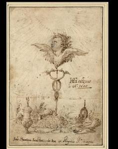 Het embleem van Goltzius