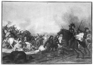 De slag bij Åstorp (Axtornia) in 1565