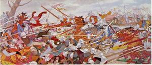 De verwarring van de strijd, serie Jeanne d' Arc