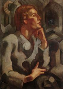 Portret van Henri Friso ten Holt (1884-1968)