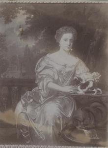 Portret van mogelijk Maria Simonides van Nijs (1677-1700)