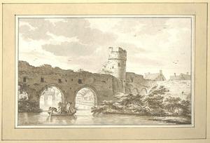 Zutphen, de Berkelpoort anno 1785