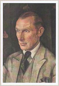 Portret van Johannes Petrus Hendricus van Lunteren (1882-1958)