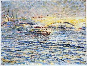 Gezicht op de Pont-Neuf, Parijs