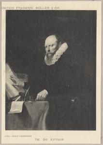Portret van Michiel Poppen (1573-1641)