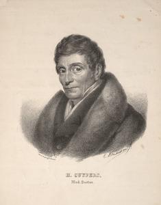 Portret van Henricus Cuypers (1751/2-1827)