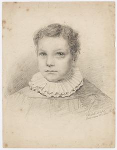Portret van een jongen, waarschijnlijk Hendrik Frederik Broers (1833-1868)