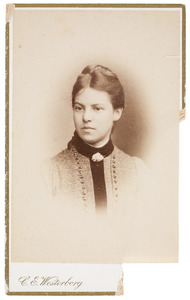 Portret van Wilhelmina Samuela Tilanus (1869-1964)