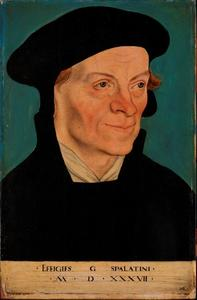 Portret van George Spalatin