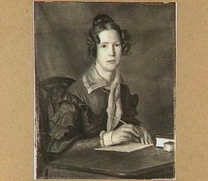 Portret van Ursule Adele Aurore (1805-1901), Barones van Tuyll van Serooskerken