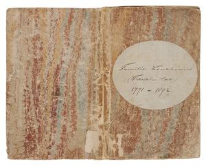 "Album ""Familie Keuchenius (Friesche tak) 1771-1892"""