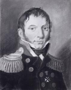 Portret van Willem Augustus van der Hart (1780-1824)