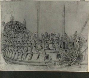 Engels zeventig kanons schip